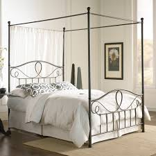 bedding pretty modern canopy bed frame interior design ideas for