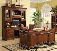 bristol court executive home office desk set by riverside home