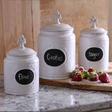 white canister sets kitchen kitchen 150113 1 looking white kitchen canisters 18 white