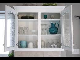 Kitchen Cabinet Doors Diy Glass Cabinet Doors Glass Cabinet Doors Diy Chic Glass