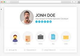Resume Website Template Free 55 Awesome Personal Vcard Resume Website Templates Wpfreeware