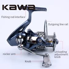 2016 kawa new spinning fishing reel light 2000 3000 4000 5000