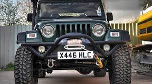 jeep road parts uk front rock crawler recovery bumper grille guard rc003 jeepey