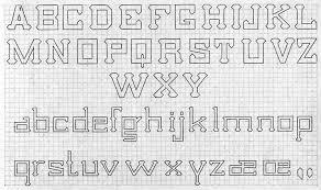 printable alphabet grid design grid lettering cathe holden s inspired barn