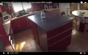 Kitchen Islands Ikea by Custom Ikea Kitchen Island Ikea Hackers Ikea Hackers