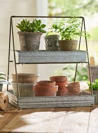 2 tier rectangular serve tray we love container gardens