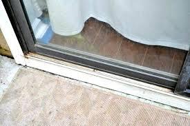 Patio Door Sill Sliding Patio Door Track Sliding Glass Door Sill Track Cover
