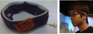 eeg headband a picture of the wearable wireless eeg system nctu bci headband