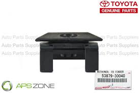 lexus parts free shipping genuine lexus toyota bumper cover retainer oem 53879 30040 ebay
