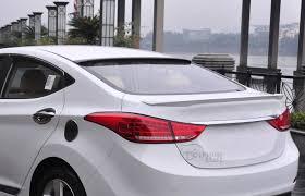 hyundai elantra paint colors car abs material roof spoiler for hyundai elantra 2013 2014 2015