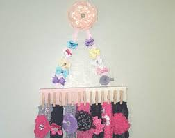 baby headband holder hair bow holder baby headband holder ombre nursery letter