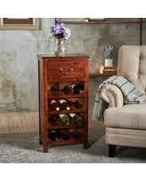 amazing holiday shopping savings on acacia wood wine rack
