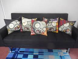 halloween cushions plants vs zombies pvz fabric cushions handmade by alien