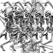 Spooky Scary Skeletons Meme - drawn war skeleton pencil and in color drawn war skeleton