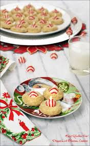 easy gluten free peppermint blossom cookies this mama cooks on
