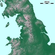 Map Of Southern England by Pennines Wikipedia