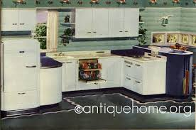 1940s kitchen design 1940s kitchens with vintage color schemes and design ideas