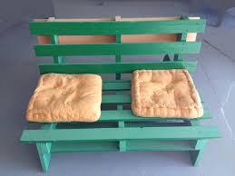 canapé en bois de palette banquette bois de palette association valoris