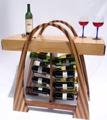 curvy wine rack john rose modern indoor pub and bistro table with