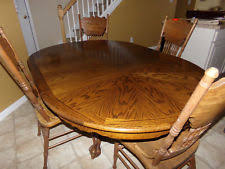 oak table and chairs ebay