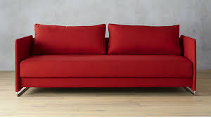 Enchanting Red Sofa Sleeper Coolest Interior Design Plan With Red - Sleeper sofa modern design