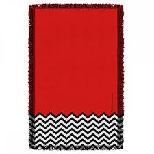 red room collection twin peaks showtime official store twin peaks red room woven throw blanket 36x58
