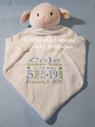 baptism blanket personalized wee snuggle blanket with birth announcement felicia s fancies