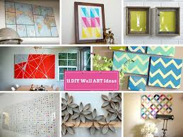 Cool Diy Wall Art by 11 Diy Wall Decorating Ideas To Do Makeover Of Boring Walls