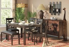 world menagerie kouaoua 6 piece dining set u0026 reviews wayfair