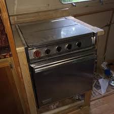 Rv Cooktop Best Rv Propane Stove From 1969 Airstream Top Burners Work And I