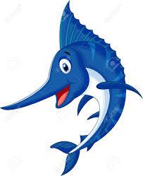 marlin fish cartoon royalty free cliparts vectors and stock