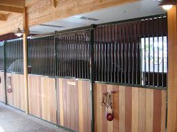 Sliding Horse Barn Doors by Horse Stall