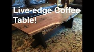making a live edge table how to make a live edge table kodama woodworks episode 4 youtube