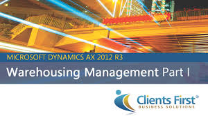 warehousing management video dynamics ax 2012 r3