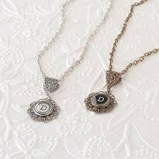 Monogram Key Necklace 91 Best