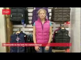 the north face womens nuptse 2 vest youtube