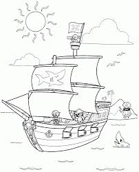 free coloring pages pirates kids coloring