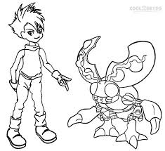 59 digimon coloring pages images digimon