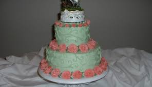 round hawaiian themed wedding cake cakecentral com