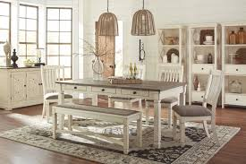 Interior Design Uph Bolanburg Rect Dining Table 4 Uph Side Chairs U0026 Uph Bench D647