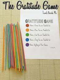 the gratitude is a family activity for thanksgiving get