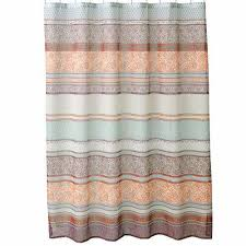 Home Classics Shower Curtain Kohl S Meduri Paisley Bohemian Style Fabric Shower Curtain By Home