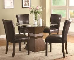 stunning pottery barn dining room tables photos marketuganda com coaster nessa 102800 103053 brown wood and glass dining table set nessa deep brown wood and glass dining table set
