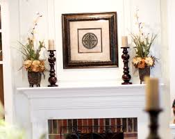fresh fireplace mantel decor 24855