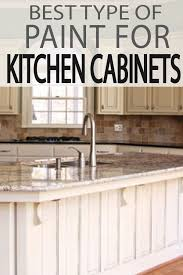 best paint type for kitchen cabinets the 5 best types of paint for kitchen cabinets painted