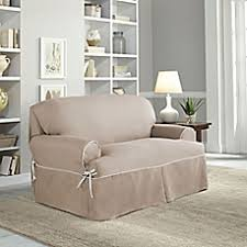 2 Piece T Cushion Loveseat Slipcover Loveseat Slipcovers Furniture Covers U0026 Throws Bed Bath U0026 Beyond