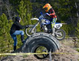 burn up scramble whitehorse daily star dirt bikers cap season with final hare scramble