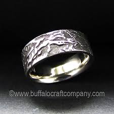 custom wedding ring custom wedding band gallery buffalo craft company llc