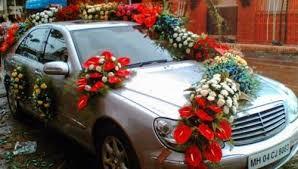 Wedding Car Decorations Wedding Car Decoration Wedding Flower Decoration In Babu Colony