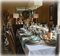 Sideboard Restaurant Dining Delight Thanksgiving Decor On The Sideboard